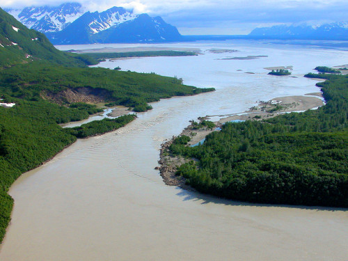 Baird Canyon Alaska, Copper River, rafting