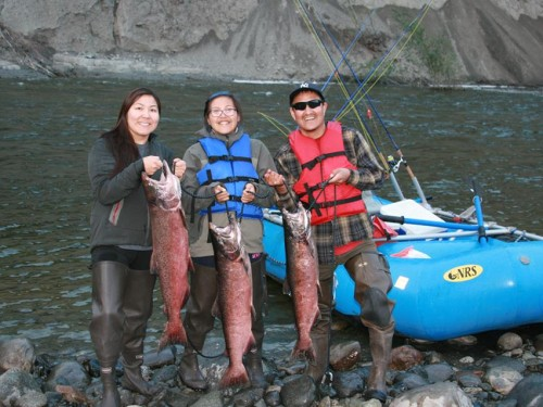 King Salmon, fishing, Alaska, Gulkana River